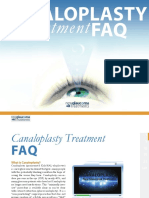 Canaloplasty Surgery Faq