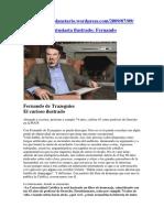 Entrevista a Fernando de Trazegnies