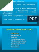 sindrome bronchiectasica