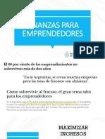 Finanzas Para Emprendedores Ppt