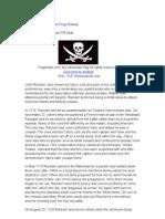 Pirate Jack Rackham Flag History