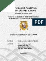 2007 - Industrializacion de La Papa