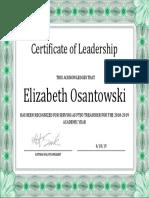 ptso leadership 2018-2019