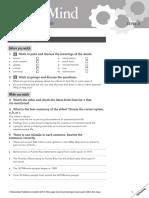 MasterMind 2 Unit 2 Class Video Worksheet