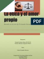 Presentacion de Etica y Amor Propio