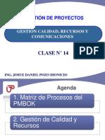 Clase14(Calidad,Recursos,Comunic)