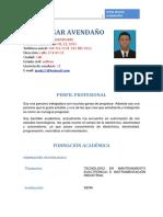 TECNOLOGOENMANTENIMIENTOELECTRICO_ELECTRONICOEINSTRUMENTACIONINDUSTRIALJHON2hoja-de-vida.docx