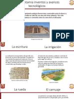 Mesopotamia inventos y avances tecnológicos.pptx