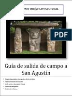 Guía de Salida de Campo San Agustín