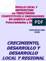 Desarrollo Local Regional Isilva