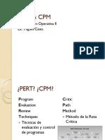 Investigacion Operativa II -Pert-cpm