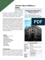 Ministerio Del Interior, Obras Públicas y Vivienda (Argentina)