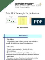 EstatisticaAplicada-Aula11 Estimacao Parametro.pdf
