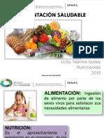 Alimentación Saludable Presentación Diplomado Madres Comunitarias 2018