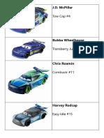Next Generation - Cars 3