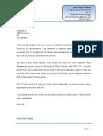 Application & CV Bhs Ingris