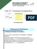 EstatisticaAplicada-Aula12 Estimacao Parametro.pdf