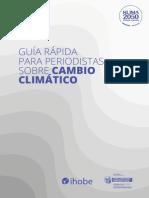 Dosier Tecnico Cambio Climatico Ihobe Para Periodistas Web