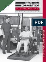 Elevador de Cadeirande Para Autobus
