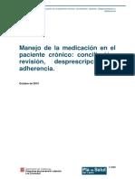 medicacion en paciente