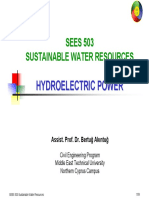 SEES 503 - 10 Hyroelectric Power.pdf