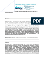 Articulo Las TIC para fortalecer habilidades científicas.