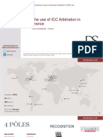 The Use of ICC Arbitration in France