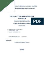 monografia de lubricacion