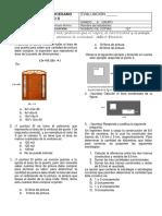 Evaluacion Tercer Periodo Matematicas 8