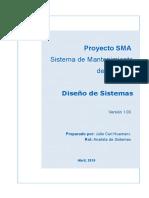 Diseñode Sistema SMA.doc