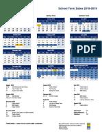 Term Dates 2018 2019 Updated9feb
