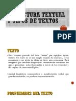 2. Estructura Textual y Tipos de Textos