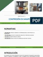 Práctica 1 - Compresión en Mampuestos