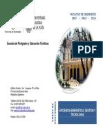 UNIVERSIDAD NACIONAL DE LA PLATA EFICIENCIA ENERGETICA