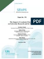Governance of University Tech Transfer