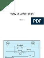 Relay vs Ladder Diagram