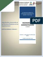Capacitación y desarrollo de los Recursos Humanos en las organizaciones.