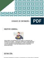Presentacion Drenaje Pleural