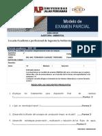 Modelo de Examen Parcial