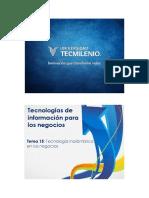 Tecnologías de Información Para Los Negocios - Apoyos Visuales Tema 15