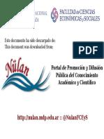 Berrotaran - Planificación en El Gobierno Peronista