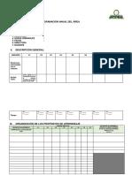 Formato de Programación Anual Del Área