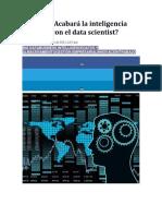 Acabara La Ie Con La Ciencia de Datos