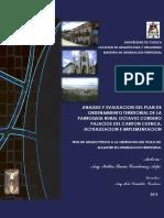 TESIS ANALISIS Y EVALUACION PDOT PARROQUIA OCTAVIO CORDERO P.pdf
