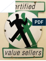 Anderson, James; Kumar, Nirmalya & James Narus (2008) Certified Value Sellers