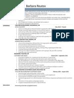 barbara reutov resume 5