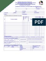 Cuestionario de Proyecto I Version 2007