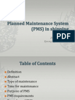 Planned Maintenance System