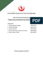 Plan Comercial TF