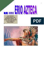 Los Aztecas Afiche